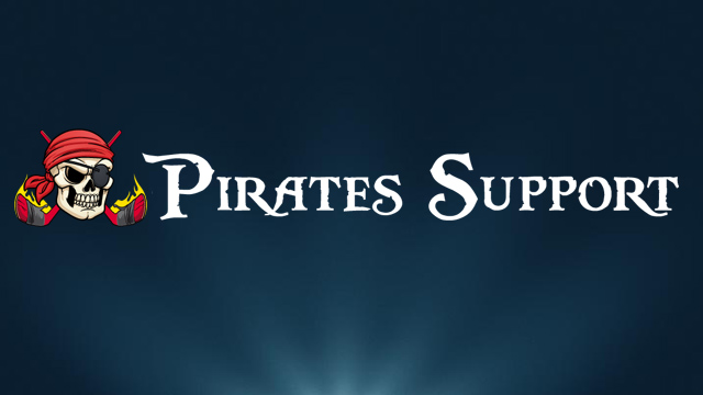 Nyt Fra Pirates Support – August